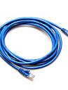 20m 65.6ft RJ45 CAT5 между мужчинами высокоскоростного широкополосного компьютер маршрутизатор интернет сетевой кабель