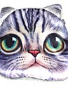 patrón gato precioso moneda cambio felpa bolsa monedero de las mujeres