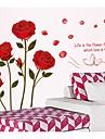 Πνομ Πενχ ρομαντικά τριαντάφυλλα αυτοκόλλητα τοίχου