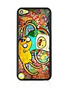 Graffiti Leather Vein Pattern Hard Case for iPod touch 5