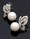 Miss ROSE®Graceful Butterfly Pearl Earrings