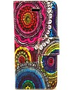COCO FUN® Floral Tribal Pattern PU Leather Full Body Case for iPhone 5C