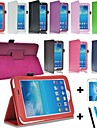 """PU Leather Stand Case Cover for Samsung Galaxy Tab3 7"""" P3200 P3210 SM-T210 T211 + Screen Protector + Pen"""