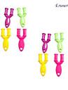 eruner®10pcs цвета радуги стиль ткацкий станок у ткача (случайные цвета)