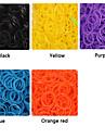 baoguang®600pcs цвета радуги ткацкий станок высокой упругой моды ткацкий станок резинку (24pcs крюк)