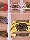 eruner®leather браслеты многослойная сплав старинных сова прелести браслет ручной работы