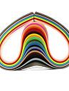 120pcs 3mmx53cm рюш бумагу (24 цвета x5 шт / цвет) DIY Craft художественное оформление