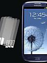 3pcs HD Transparent Screen Protector for Samsung Galaxy S3 I9300