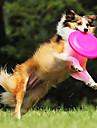 мягкая фрисби укус устойчивостью питомец силиконовый диск для домашних животных собак кошек