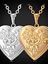 Золотой Медальоны Ожерелья Позолота Бижутерия