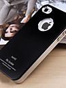 JOYLAND 서리로 덥은 단단한 아이폰 4/4S를위한 색깔 금속 뒤 표지 (분류 된 색깔)