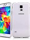 삼성 갤럭시 S5 미니 - 뒷 커버 - 솔리드 컬러/크리스탈 표면 - 삼성 모바일폰 ( 화이트 , 플라스틱 )
