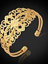 u7® старинные браслеты для женщин 18k коренастый заполненное золото позолоченный манжеты ювелирные изделия браслет