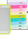 JOYLAND 스크럽 하드 바닥 소프트 엣지 투명 아이폰 5/5S를위한 플라스틱 뒤 표지 (분류 된 색깔)