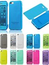 BIG D TPU Touch View Flip Full Body Case for iPhone 5C(Assorted Colors)