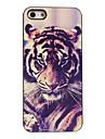 cas dur tigre conception en aluminium pour iPhone 4 / 4S