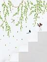 보태니컬 카툰 사람들 벽 스티커 플레인 월스티커 데코레이티브 월 스티커,비닐 자료 물 세탁 가능 이동가능 홈 장식 벽 데칼