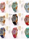 Womenr Cylindrical Stripe Pu Leather Diamond Brand Luxury Lady Bracket Dress Wristwatch (Assorted Colors)C&D-197