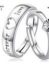 Кольца для пар ( Стерлинговое серебро ) - Свадьба/Для вечеринок/Повседневные
