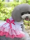 nouveau style serveral robe de princesse couches aimable en été pour animaux chiens