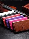 Mobile Samsung - Couleur unie - Etuis du corps entier - pour Samsung Galaxy A3 ( Noir/Blanc/Rouge/Marron/Violet/Rose , Plastique/Cuir PU )