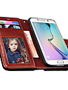 Vintage PU Leather Wallet Style Case for Samsung Galaxy S6 (Assorted Color)