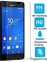 HUYSHE HD Anti-Fingerprint Tempered Glass Screen Protector for Sony Xperia Z3 Compact