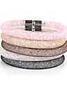 Bracelet Chaînes & Bracelets Bracelets Vintage Alliage Acrylique Quotidien Décontracté Sports Regalos de Navidad Bijoux CadeauNoir Blanc