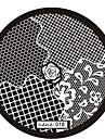 1 - 6x6 - Абстракция - Металл - Пальцы рук/Пальцы ног/Прочее