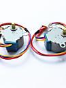 아두 이노를위한 직류 5V 28ybj-48 스테퍼 모터 ((공식 아두 이노 보드 / 2 개)와 함께 작동