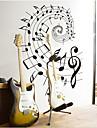 вращающаяся музыку к сведению ПВХ стикер стены
