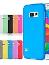 삼성 Samsung Galaxy S6 - 뒷 커버 - 솔리드 컬러 - 삼성 모바일폰 ( 블랙/화이트/레드/그린/블루/옐로우/그레이/퍼플/로즈/오렌지 , 플라스틱 )