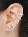 Poignets oreille Alliage Strass Imitation de diamant Pierres de naissance Forme d'Etoile Bijoux Mariage Soirée Quotidien Décontracté 1pc