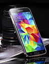 For Samsung Galaxy Case Transparent Case Back Cover Case Solid Color TPU Samsung S5