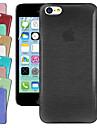 아이폰 5C를위한 체육관 그리기 크리스탈 백 케이스 (모듬 된 색상)