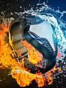 남자의 시계 패션 코브라 레드 / 블루 디지털 스포츠 주도 손목 시계 실리콘 철인 삼각형 시계 (모듬 색상)