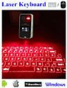коснуться портативный Bluetooth виртуальный лазерной проекции клавиатуры с ЖК-дисплеем для Samsung IPhone IPad портативных ПК