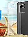 Для Кейс для  Samsung Galaxy Прозрачный Кейс для Задняя крышка Кейс для Один цвет PC Samsung Alpha