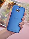Pour Coque HTC Ultrafine Translucide Coque Coque Arrière Coque Couleur Pleine Dur Polycarbonate pour HTC