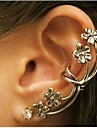 Ear Cuffs Alloy Statement Jewelry Punk Silver Bronze Jewelry Wedding Party Daily Casual 1pc
