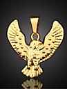 Ожерелье Ожерелья с подвесками / Кулоны Бижутерия Повседневные / Спорт Позолота Золотой 1шт Подарок