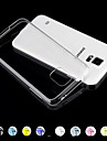 For Samsung Galaxy Case Transparent Case Back Cover Case Solid Color PC Samsung S5