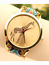 Mulheres Relógio Elegante Relógio de Moda Relógio de Pulso Quartzo Lega Banda Azul Dourada # 4 # 5 # 6 # 7 # 8