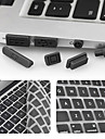 보호 키보드 필름 및 방진 enkay 초박형는 망막 디스플레이 / 에어와 맥북 프로에 대한 보편적 인 플러그