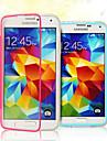 Para Samsung Galaxy Capinhas Flip / Transparente Capinha Corpo Inteiro Capinha Cor Única TPU Samsung S5