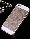 sólida do brilho de Bling caso tampa traseira para iPhone 4 / 4S (cores sortidas)