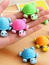 Черепаха образный съемный Eraser (случайный цвет)
