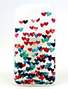 Colorful Heart  Pattern Ultrathin TPU Soft Back Cover Case for Motorola G2