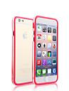 Para iPhone X iPhone 8 iPhone 8 Plus Capinha iPhone 5 Case Tampa Transparente Protetora de Quinas Capinha Côr Sólida Rígida PC para