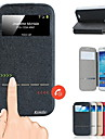 Kemile Front View Window mart liding Anwer Call Flip Cover For amung Galaxy 5 (Aorted Color)
